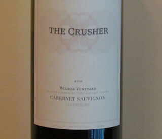 The Crusher Wine Cabernet Sauvignon