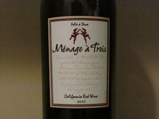 Menage a Trois Wine Review