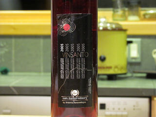 Vinsanto Greek Wine