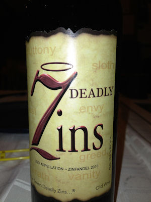 7 deadly zins
