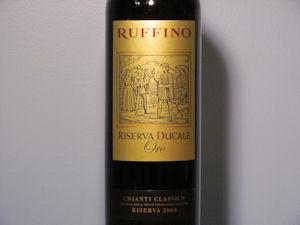 Ruffino Riserva Ducale Oro