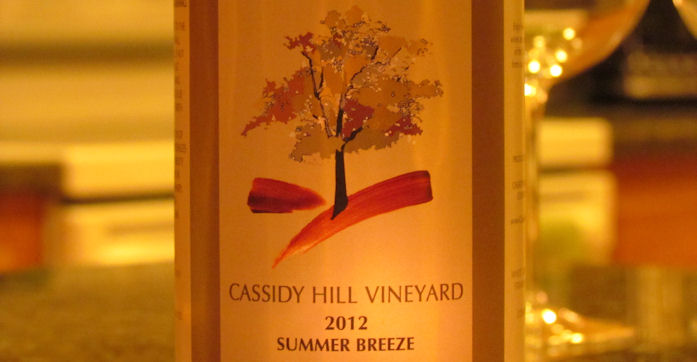 Cassidy Hill Vineyard Summer Breeze