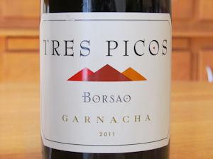 Tres Picos Garnacha