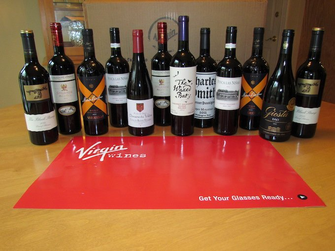 Virgin WInes Review Bottles