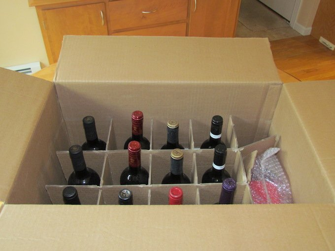 Virgin Wines Review Bottles In Box