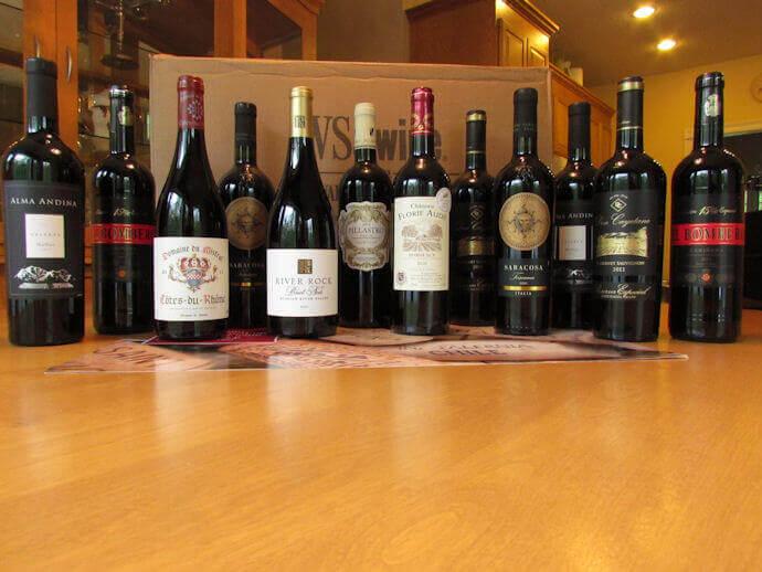 wsj wine club review bottles