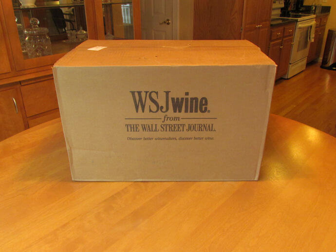 wsj wine club review box