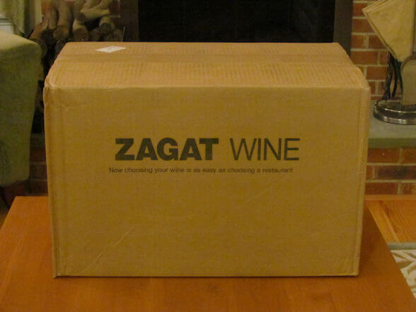 zagat wine club review box before opening