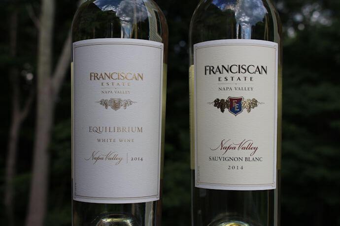 Franciscan Estate Equilibrium and Sauvignon Blanc