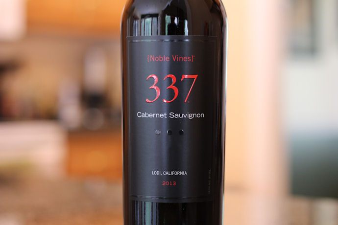 337 Wine Noble Vines Cabernet