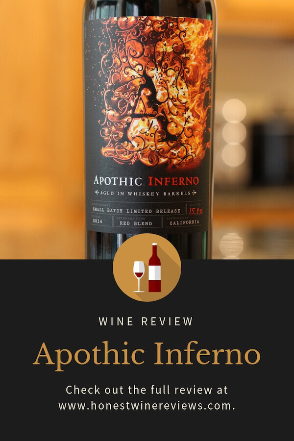 Apothic Inferno Wine Review Pinterest Pin