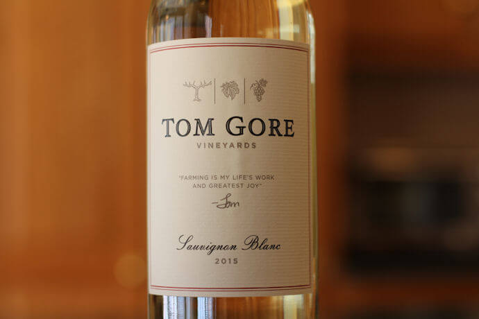 Tom Gore Sauvignon Blanc Review