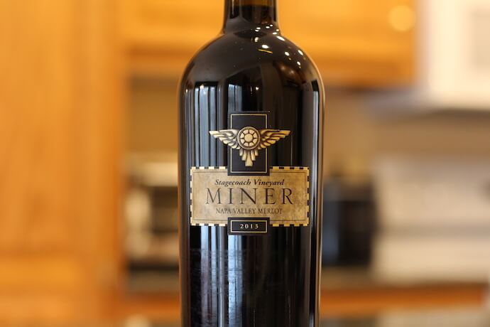 Miner Winery Stagecoach Vineyard Merlot