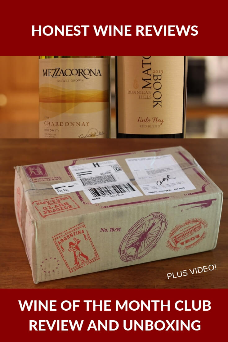 Detailed review of the Wine of the Month Club. In this wine club review, you'll discover this club's price, pros and cons, features and more. You'll also see an unboxing video showing exactly what you get! #wine #wineclub #winereviews