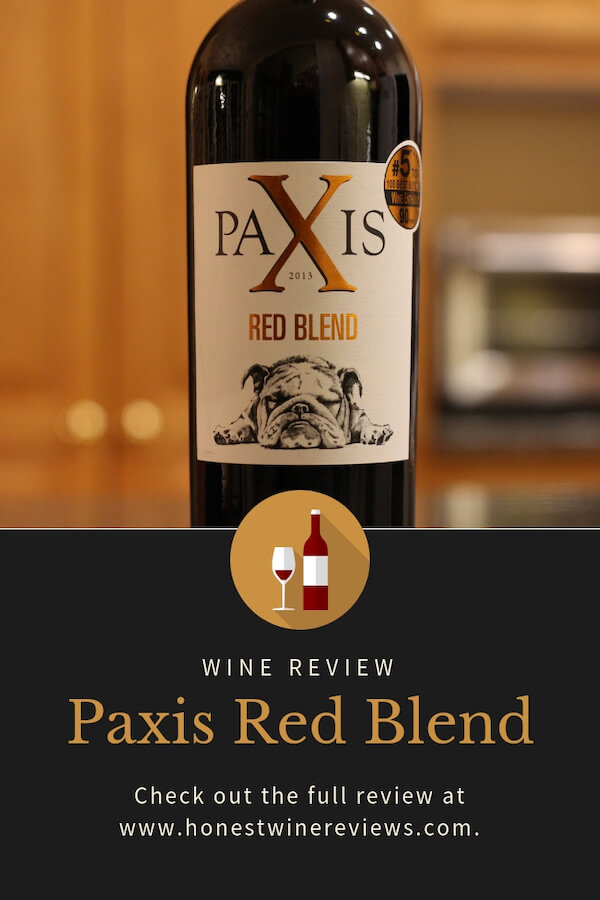 Paxis Red Blend Wine Review Pinterest Pin