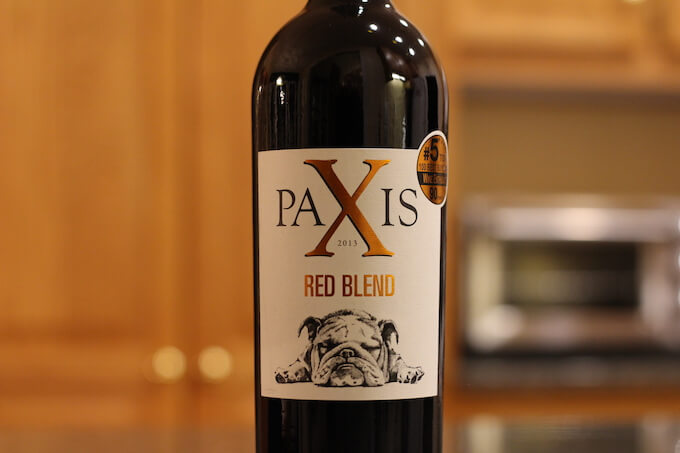 Paxis Red Blend Wine