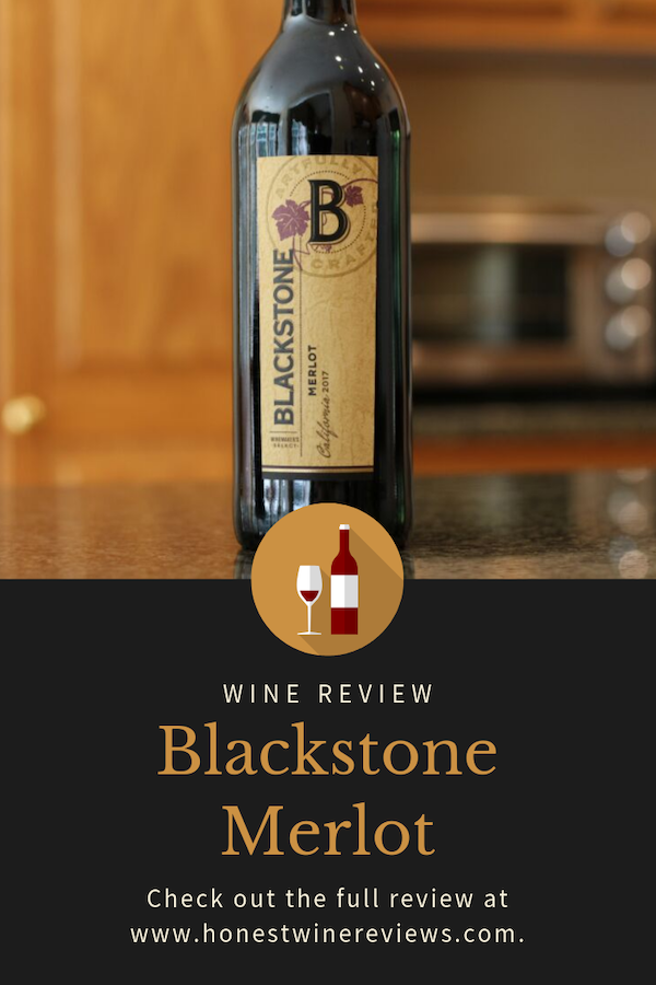 Blackstone Merlot Wine Review Pinterest Pin