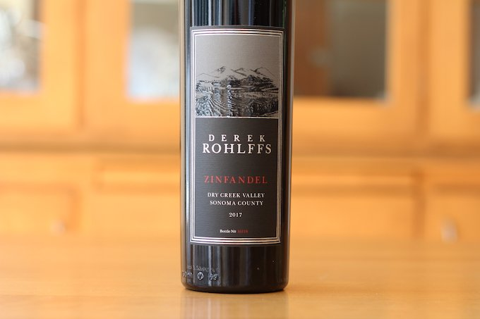 Derek Rohlffs Dry Creek Valley Zinfandel