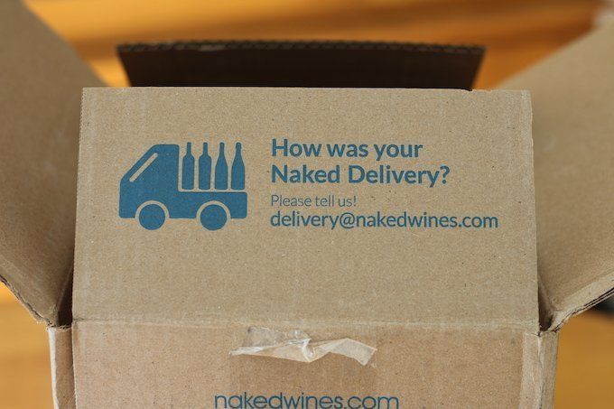 Naked Wines Box Flap Delivery Question