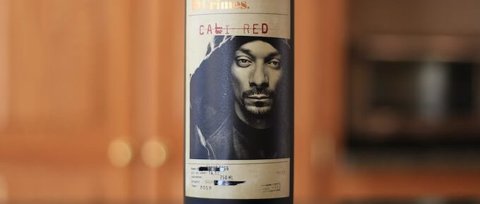 Snoop Dogg Wine Bottle 19 Crimes Cali Red