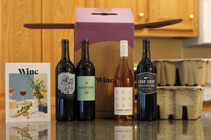 Winc Wine Delivery Box Contents